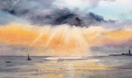 Himmelsstimmungen an der Küste