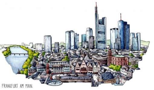 Bildkomposition und - aufbau im Urban Sketching